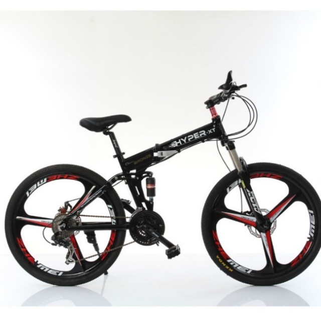9374639541e PROMO -Full suspension,Brand new Foldable Bicycle with Disk brakes ...