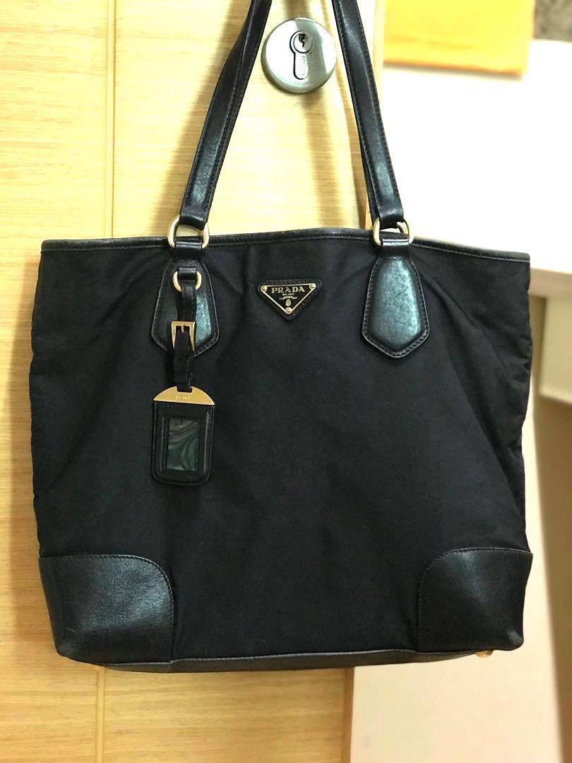 5aba990b7c Reduced price Authentic Prada Ladies soft shoulder bag Office use ...