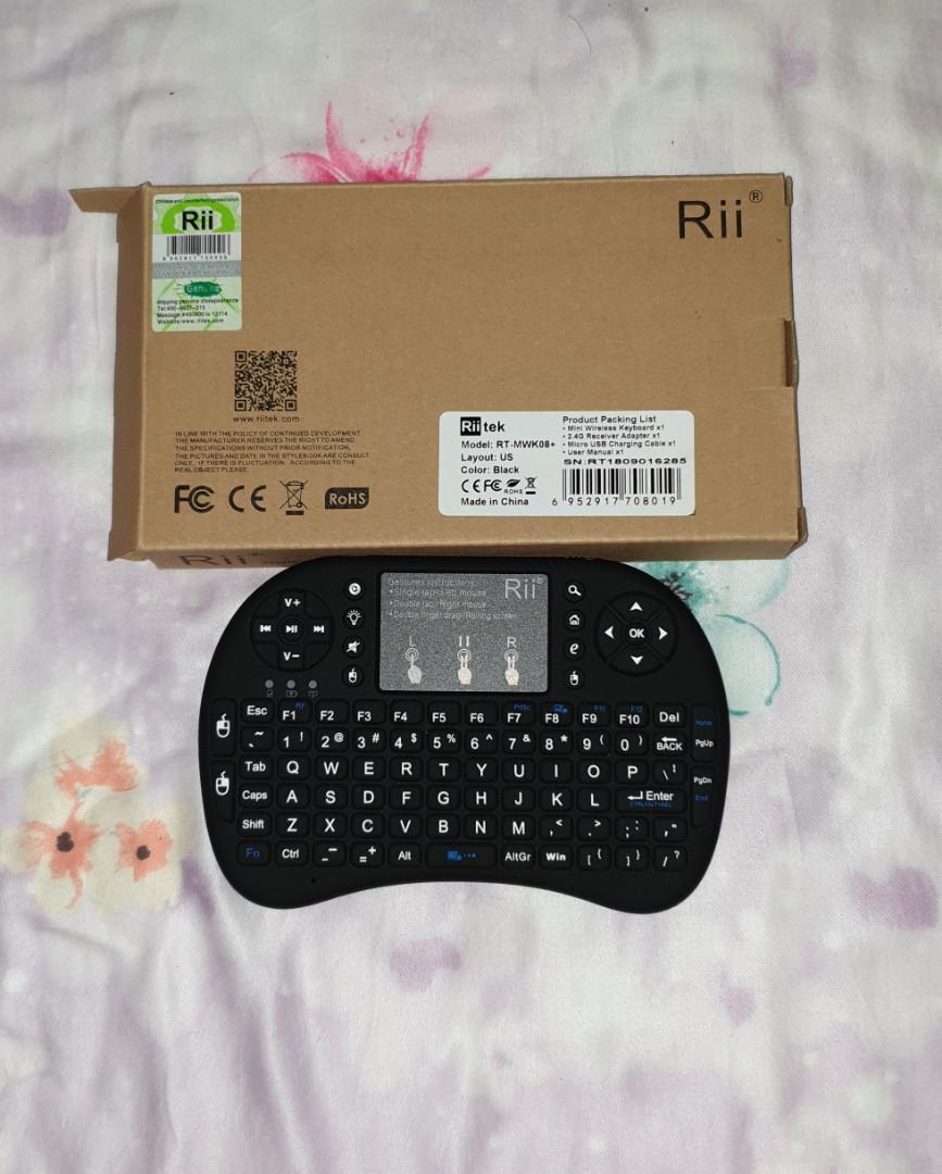 Riitek Rii i8+ Mini BT Wireless Keyboard