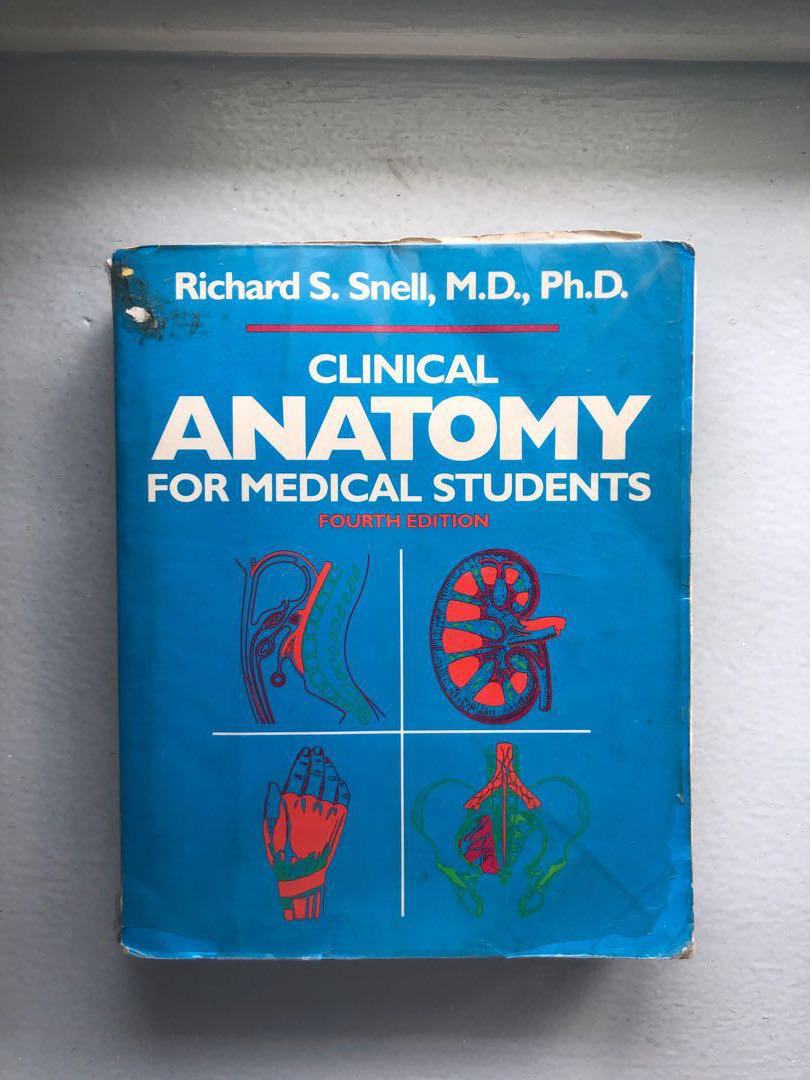 Snell Clinical Anatomy For Medical Students 4th Ed Textbooks On