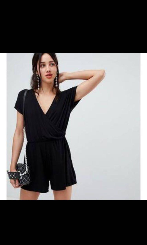 reasonably priced amazon 2019 factory price Stradivarius black jumpsuit, Women's Fashion, Women's ...