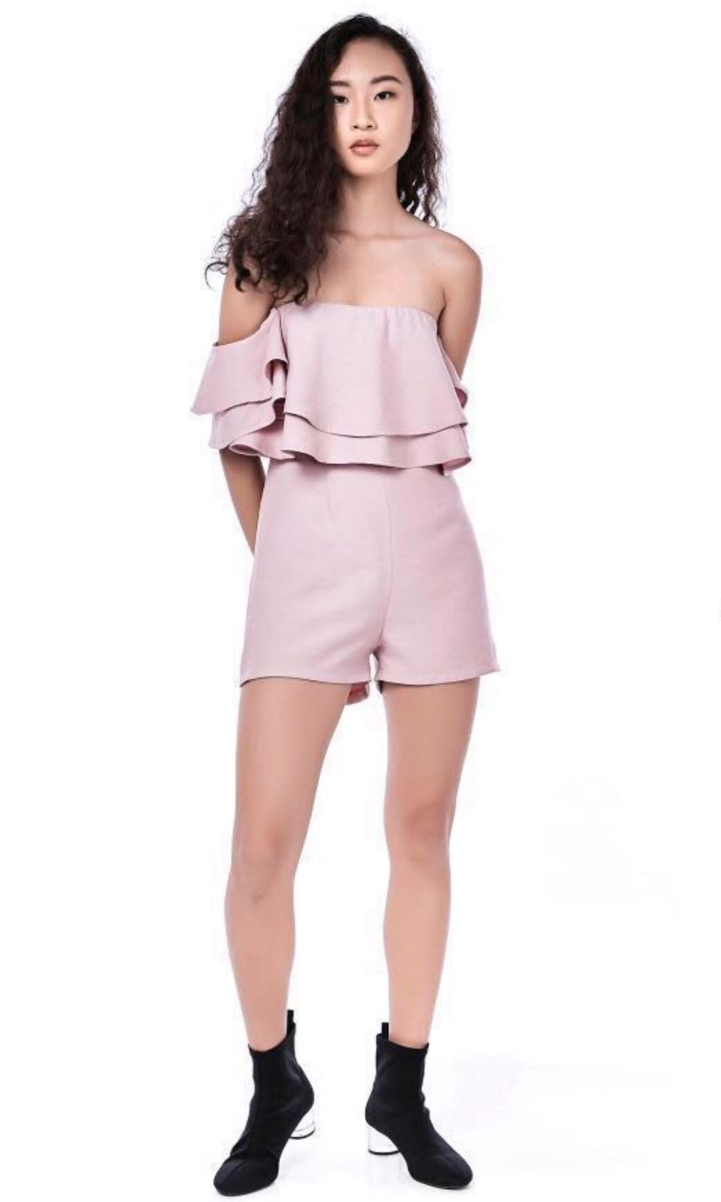 775ae94b716 The Editor s Market Off-Shoulder Romper