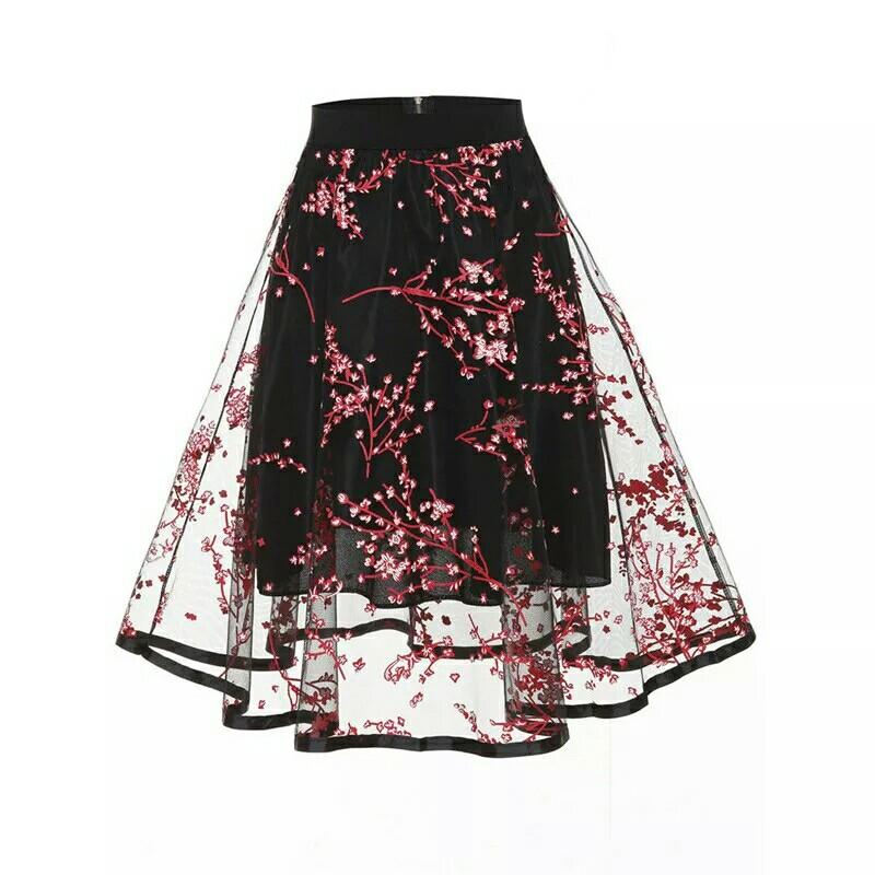 UK Tulle Skirt Womens Vintage Dress Rockabilly Tutu Petticoat Ball Gown Skirts