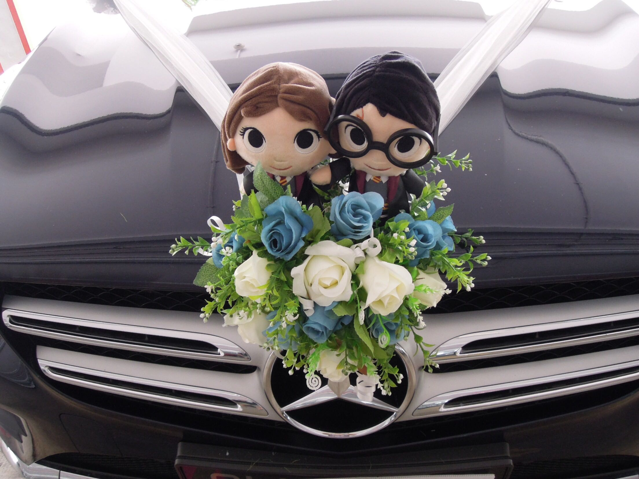 Wedding Car Decor Bridal Car Decor Everything Else On Carousell