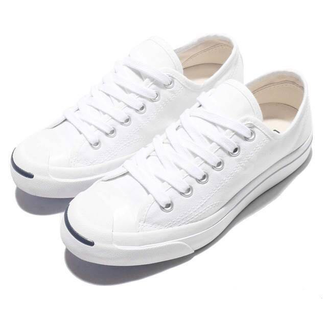 6b0b88c79039 White converse Jack purcell shoes