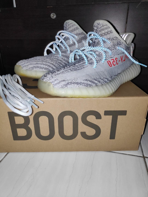 yeezy blue tint shoelaces Shop Clothing
