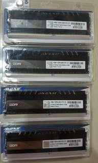 WTS Avexir Core 2400mhz DDR4 4GB Blue LED #SparkJoyChallenge
