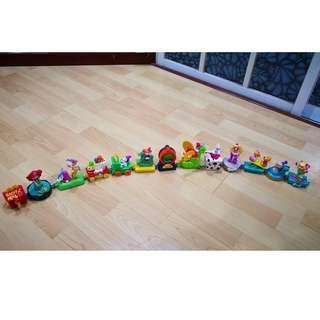 Mcdonalds Happy Meal Happy Birthday Toy Train Toys 1994