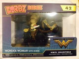 (NEW) Wonder Woman with horse Dorbz Ridez Funko Vinyl Collectible