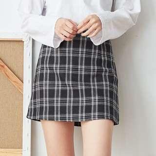🚚 格紋包裙
