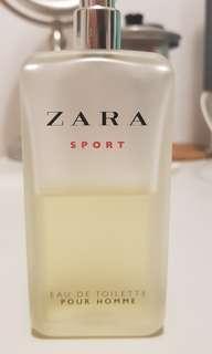 🚚 ZARA SPORT 淡香水 香水 絕版 西班牙製