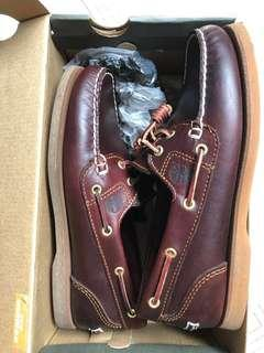 Timberland Amherst rootbeer boat shoes