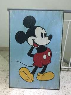 Mickey Antiqued Poster