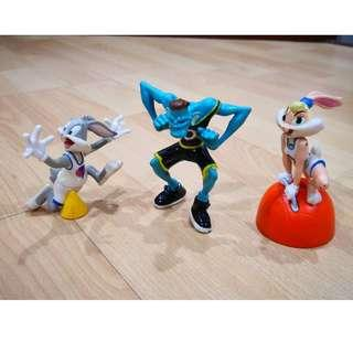 Mcdonalds Happy Meal Toys Space Jam1996