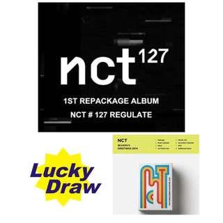 [LUCKY DRAW ENDED] NCT # 127 REGULATE