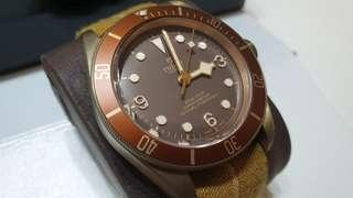 Tudor Black Bay Bronze M79250BM excellent condition
