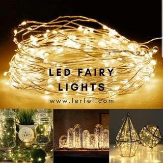 LED Fairy Lights - Battery Operated (10 metres)