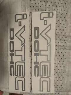 Honda DOHC i-VTEC decal (Pair)