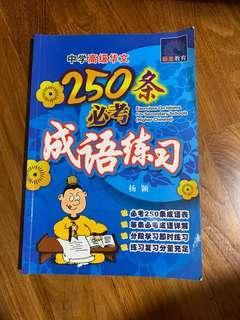 Chinese 250 成语 textbook