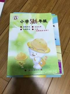 Primary 5&6 Chinese composition books