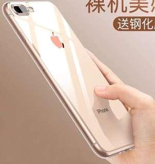 IPHONE 7/8 Transparent Case