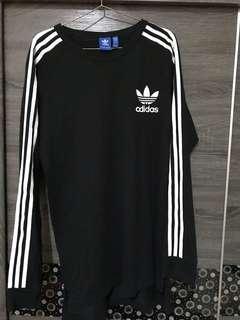 Adidas Original  長版縮口長袖