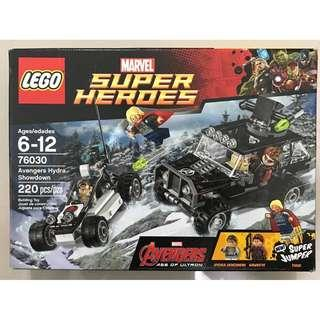 LEGO Marvel Super Heroes Avengers Hydra Showdown 76030 (220 Pieces)