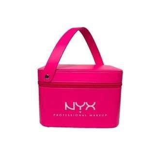 🚚 NYX 桃色 化妝箱