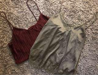 H&M Camisoles - 2 for $20