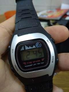 Gent Time spark digital watch from Japan