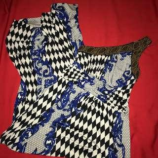 Maxi dress, Tarzan shoulder with sequins, nice thick stretchy fabric