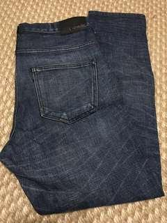 LAD MUSICIAN skinny jeans w30 31 raf simons levis