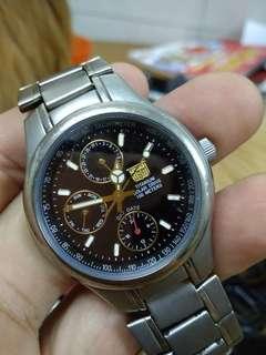 Original Elgin Titanium solar watch