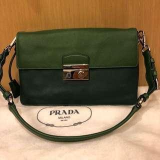 [price reduced] Prada leather shoulder bag