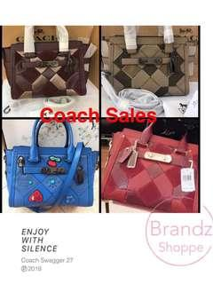 💝Special SALE! 💯% ORI Coach Woman Swagger 27 (Limited Edition) ALL Ready Stock!!!