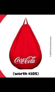 Limited Edition Coca Cola Coke Bean Bag