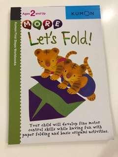 BN Kumon Let's Fold Animals