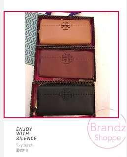 💝Ready Stock @ 💯% ORI Tory Burch Woman Leather Long Round Zip Wallet (3 Colors)