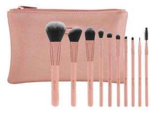 BH cosmetics 10 pieces brush set