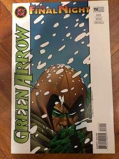 The final night Green Arrow #114 NOV 1996