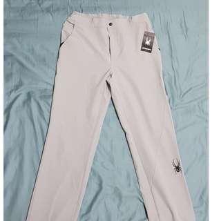 🚚 Spyder pant 防風 透氣 彈性運動褲