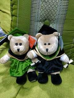 Starbucks 泰國版畢業熊仔2隻