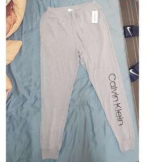 🚚 Calvin Klein CK pant 縮口薄棉褲