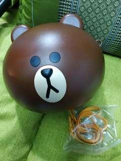Line 熊大爆谷頭