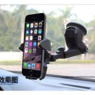 Car Mount Easy Stick Long Neck One Touch Cellphone Holder