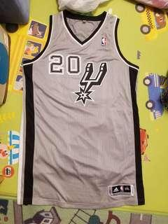 NBA 波衫 Spurs Manu Ginobili Authentic jersey Adidas