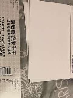Jem hsiao nov 24 concert(price at pair)