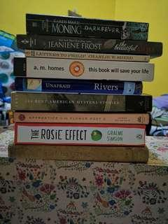 Stack of Books (take all!)