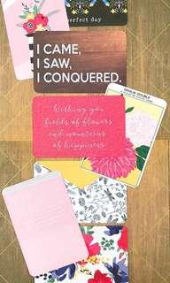 Scrapbook Journal Cards <Wild Flowers>
