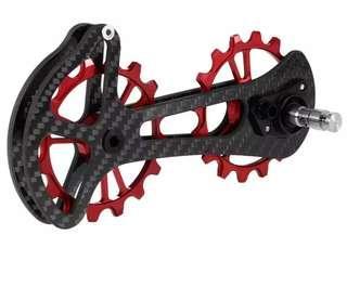 🚚 Oversized jocky wheels